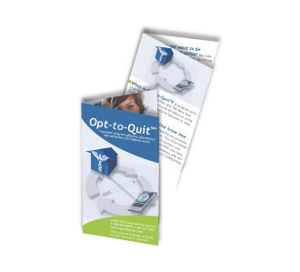 Opt-to-Quit mini brochure
